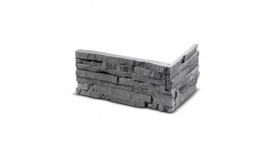 ROH Obkladový kámen TEPIC grafit 330x145x145x25 mm Sádra balení 0,87bm