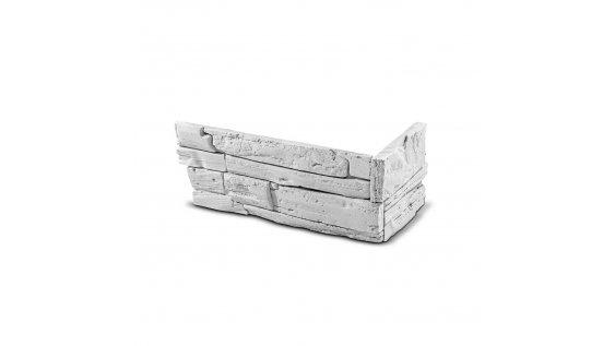 ROH Kamenný obklad FASAD bílý 330x145x145x25 mm Beton balení 0,87bm
