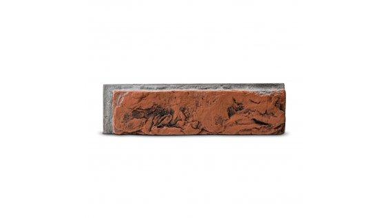 Cihlový obklad se spárou Steinblau MIRAMAR - červená