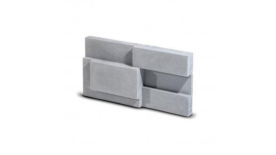 Kamenný obklad Steinblau SQUARE - šedá