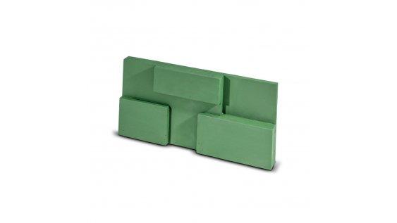 Kamenný obklad Steinblau SQUARE - zelená