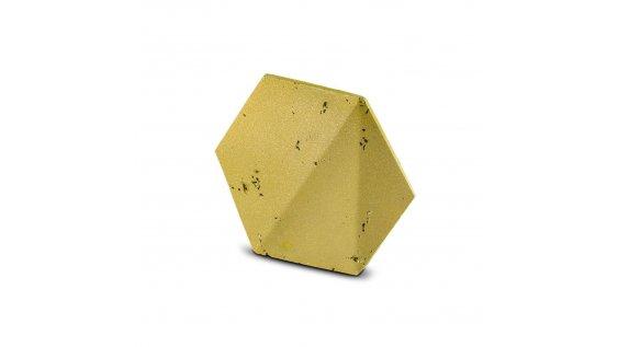 Kamenný obklad Steinblau PLAYA HEXAGON 3D - zlatá