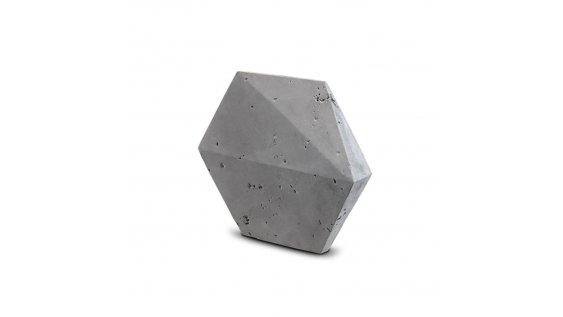 Kamenný obklad Steinblau PLAYA HEXAGON 3D - šedá