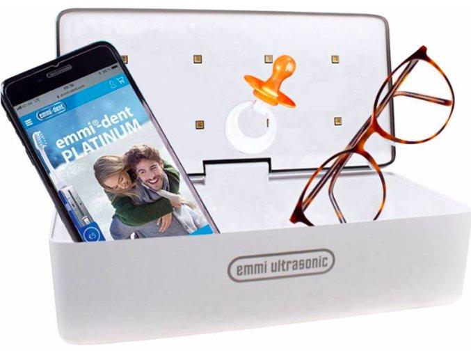 Domácí sterilizátor nejen mobilních telefonů a brýlí EMMI Steri UVC LED