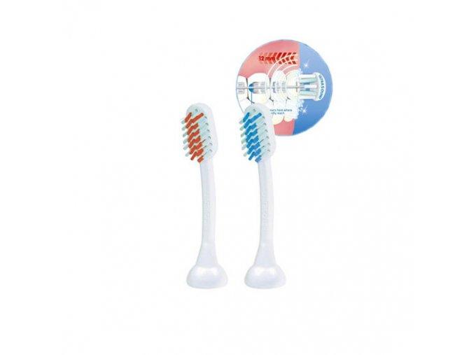 Emmi-Dent 2 čistící nástavce SB2 pro osoby s rovnátky pro kartáčky Emmi-Dent  na zuby s rovnátky, náhradní hlavice pro elektrické kartáčky Emag Emmi-Dent