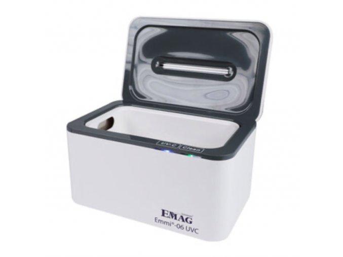 Ultrazvuková čistička EMMI 06 UV-C s LED UV-C sterilizátorem 2v1