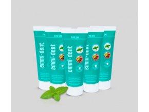 Zubní pasta Emmi-dent Fresh 6+2 výhodné balení