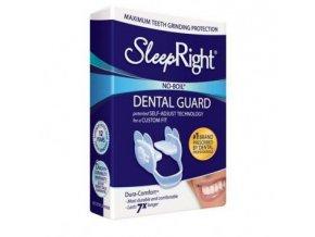 SleepRight zesílená zubní dlaha Dura Comfort proti bruxismu (skřípání zubů ve spánku)  zesílená zubní dlaha proti skřípání zubů ve spánku (bruxismu)