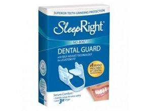 SleepRight zubní dlaha Secure comfort proti bruxismu (skřípání zubů ve spánku)  zubní dlaha proti skřípání zubů, standardní tuhost, nastavitelná velikost