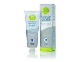 Bělicí multifunkční zubní pasta beconfiDent Sensitive + Máta 75ml