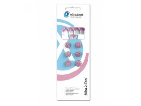 Tablety Miradent pro zabarvení zubního kamene, 6 Ks  tablety na indikaci plaku
