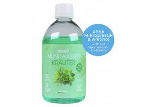 Emmi-dent ústní voda antibakteriální bylinky, 500ml