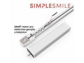 SMART WiFi Motor pro elektrické kolejnice a garnýže s funkcí Alexa, Google home a Tuya Smart