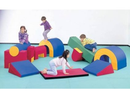 Weplay Soft Gym 12 Pieces 89640 zoom