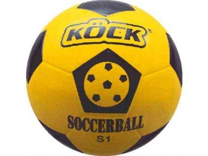 Fotbalový gumový míč S-1