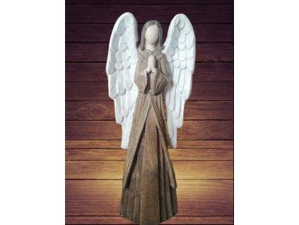 Anděl patina 56 cm