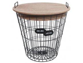 Odkládací stolek 2ks CLAYRE & EEF