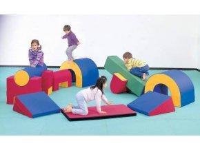 Weplay Soft Gym 12 Pieces 89640 zoom