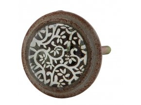 Nábytková úchytka knopka patina vintage Clayre & Eef