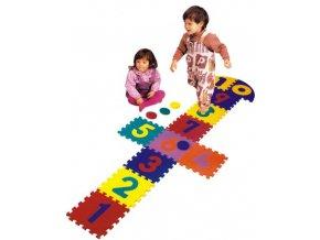Pěnové puzzle Skákací panák
