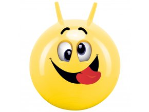 Hopsadlo Skákací míč Veselý obličej 45-50 cm