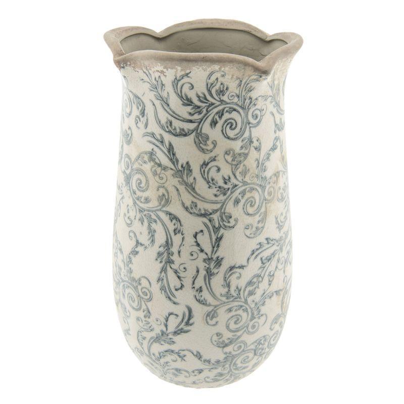 Keramická váza 14*28 cm Clayre & Eef