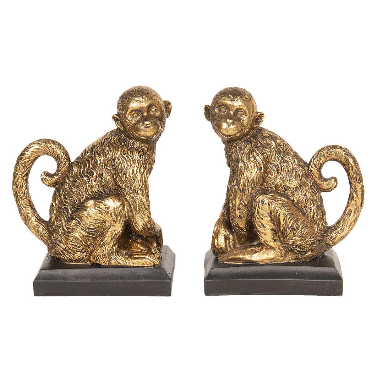 Levá a pravá zarážka na knihy opice MONKEY