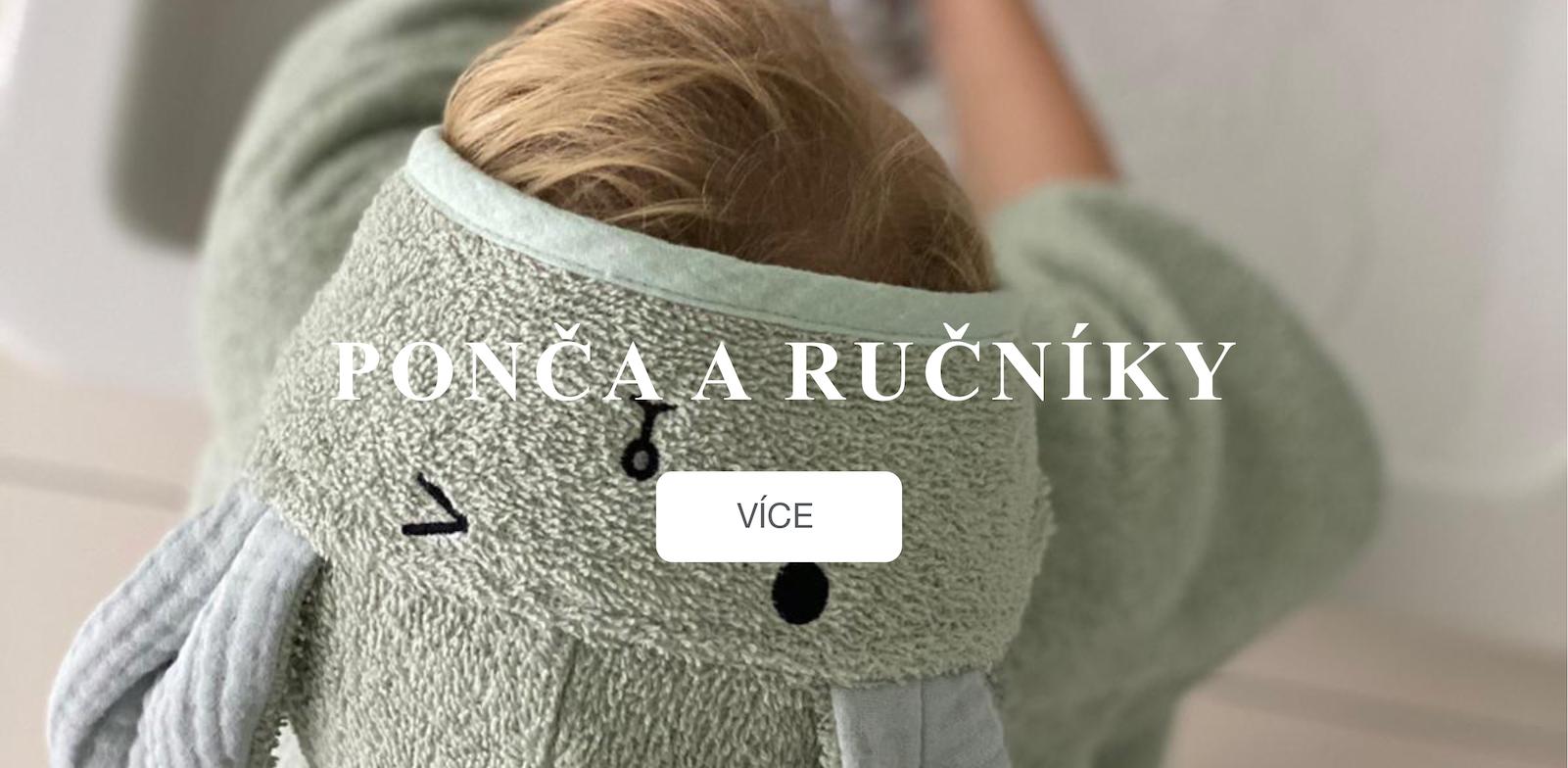 Nová ponča a ručníky od MimiConcept