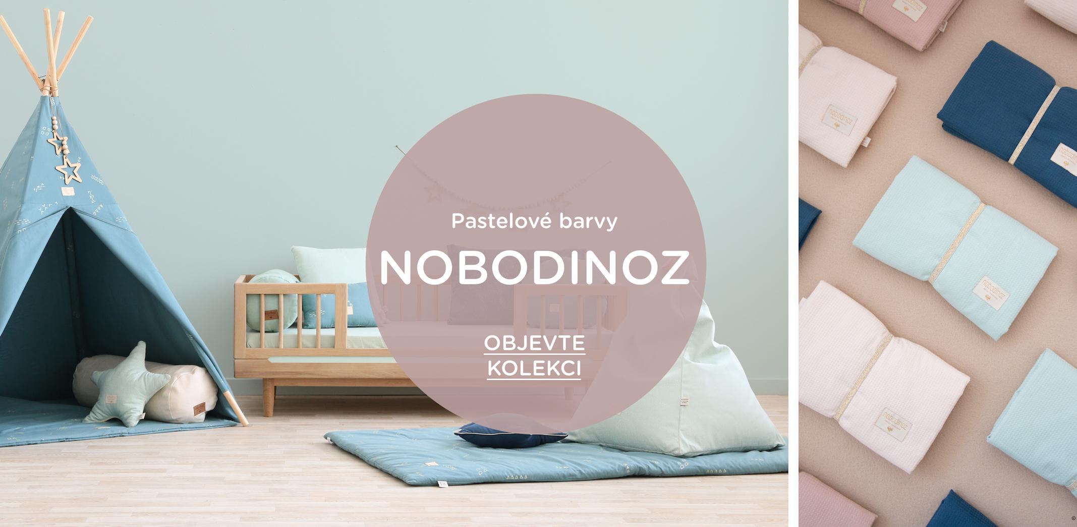 Nová kolekce od Nobodinoz plná pastelových barev.