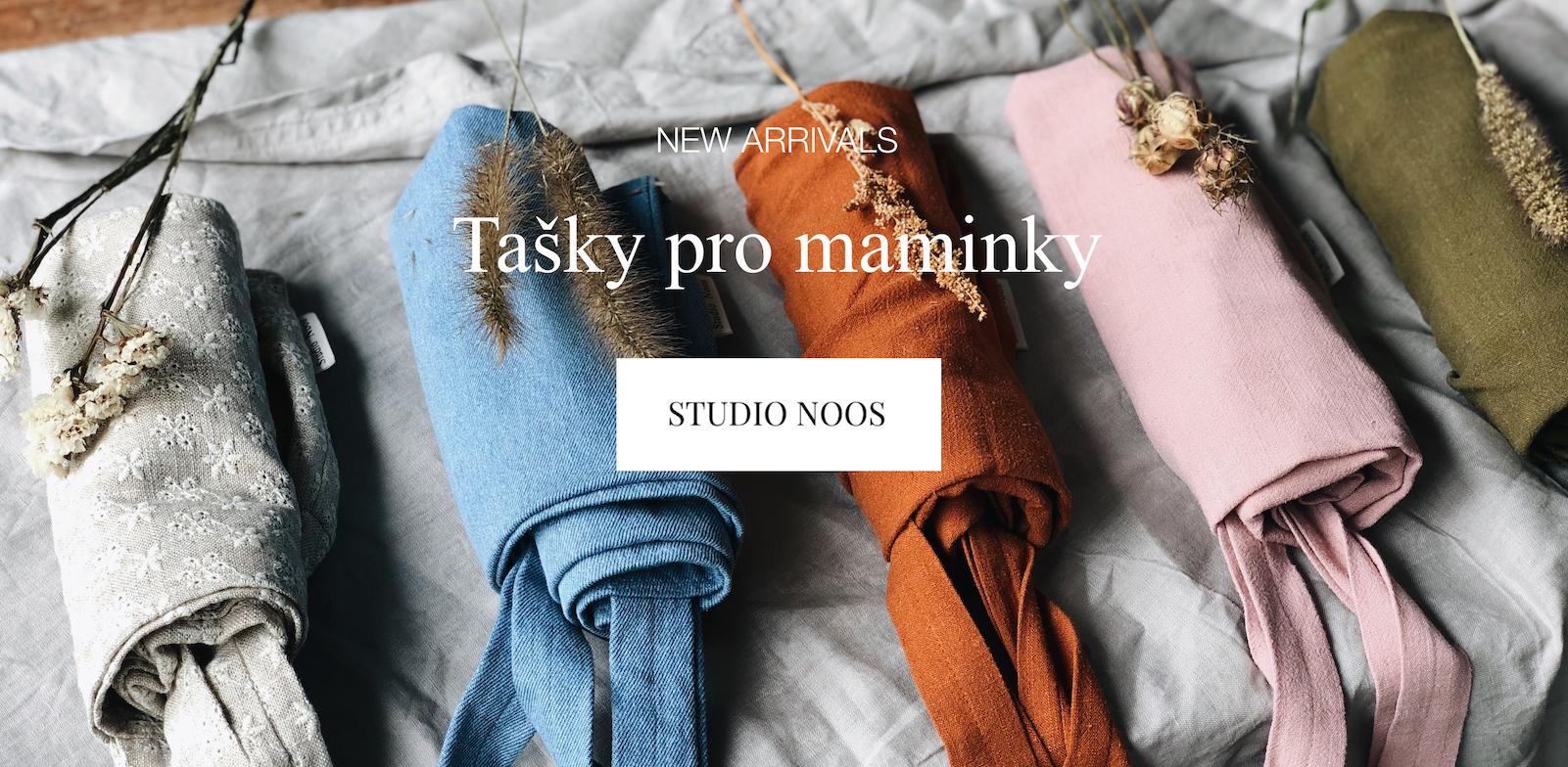 Nové tašky pro maminky od Studio Noos