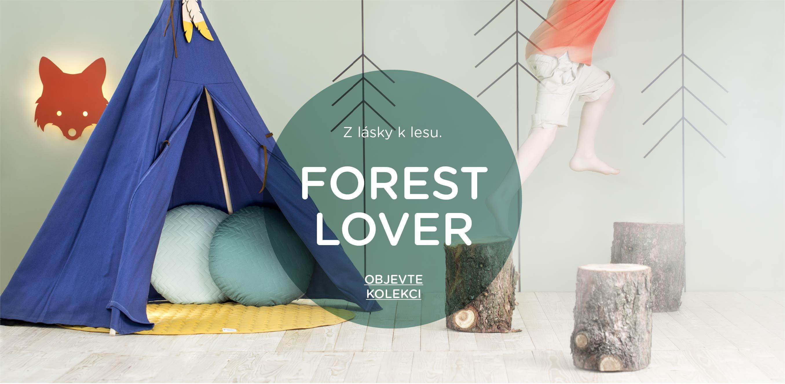 Inspirace dětský pokoj Forest Lover