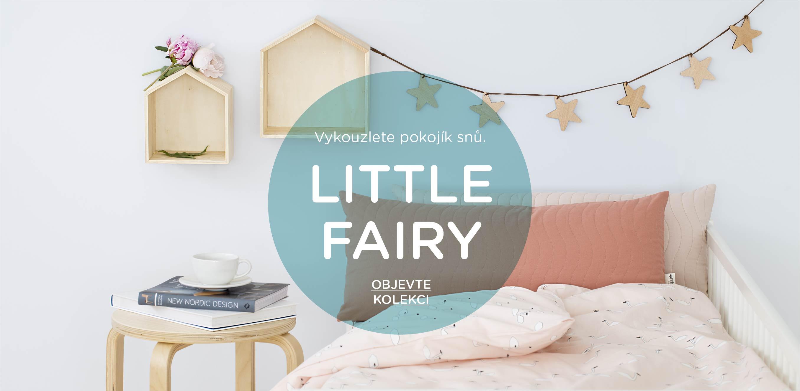 Inspirace dětský pokoj Little Fairy