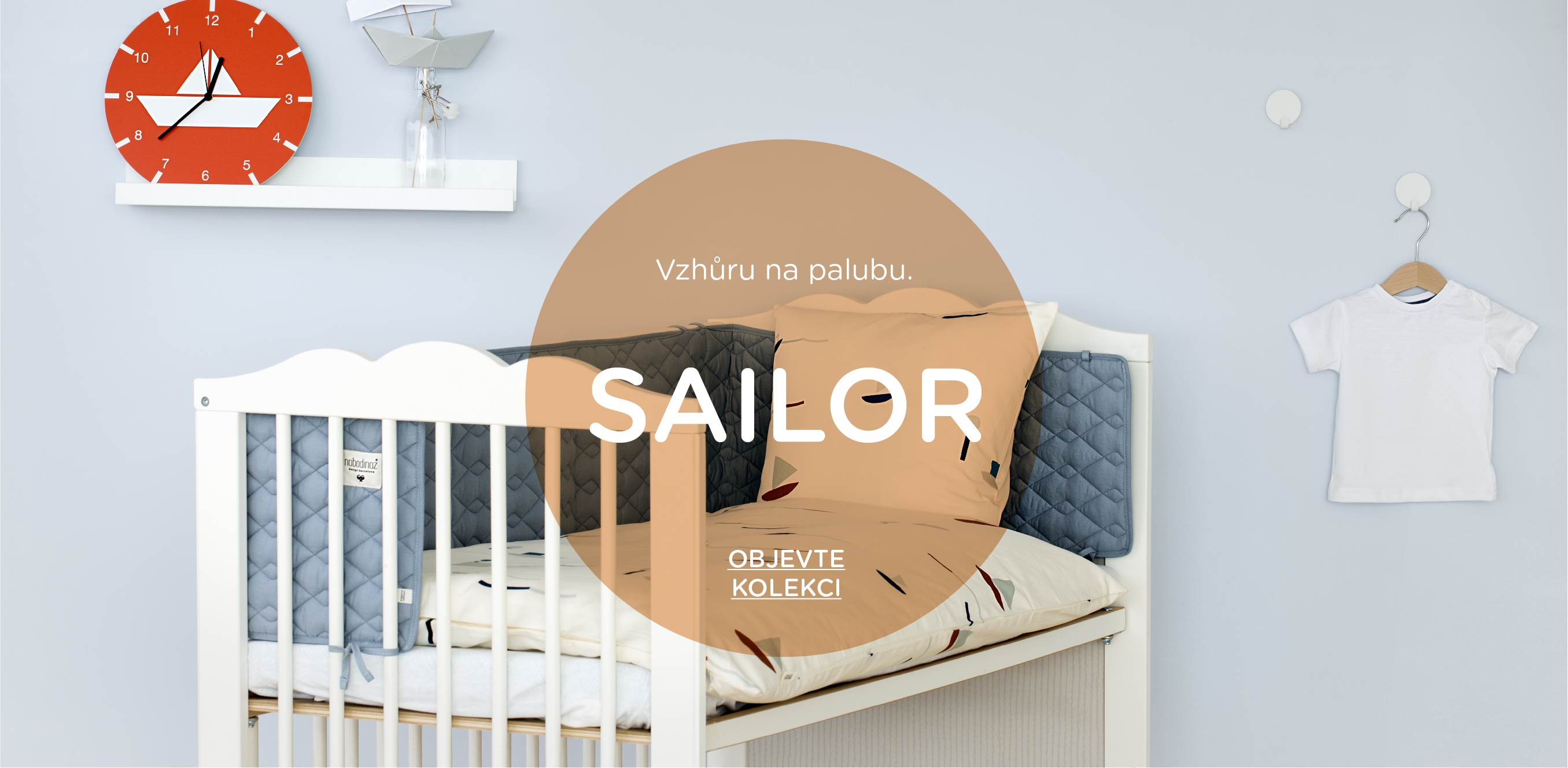 Inspirace dětský pokoj Sailor