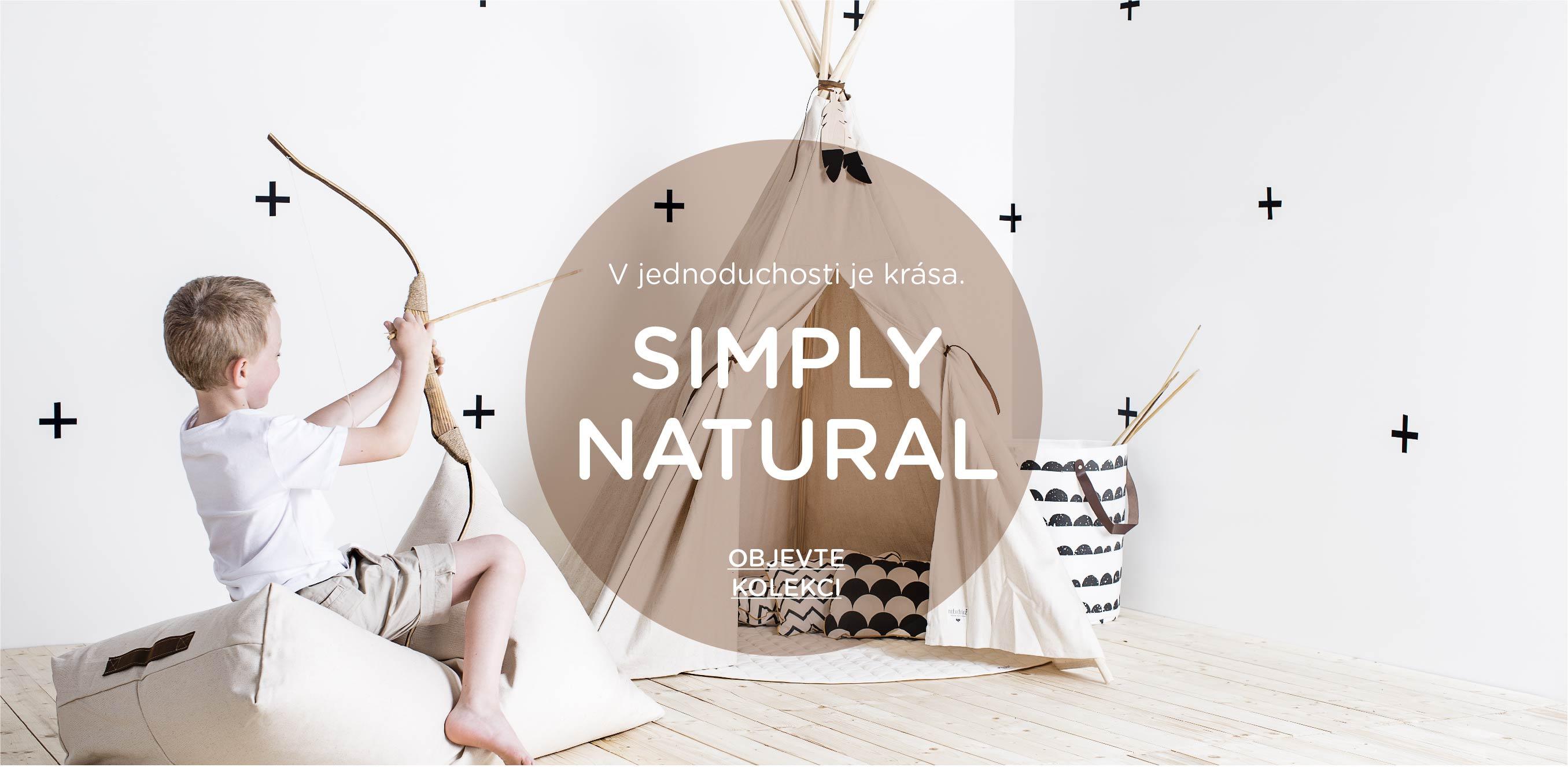 Inspirace dětský pokoj Simply Natural