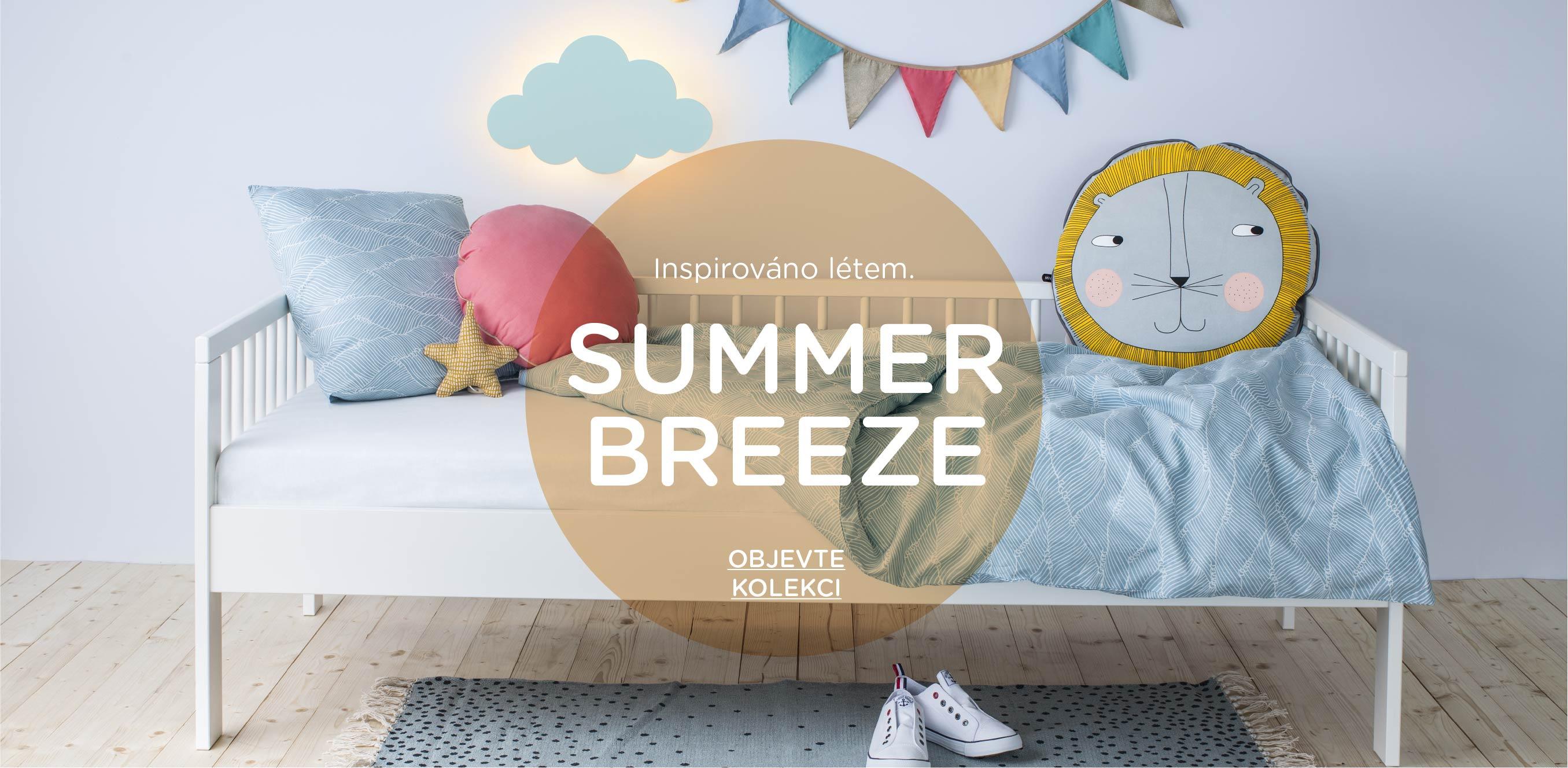 Inspirace dětský pokoj Summer Breeze