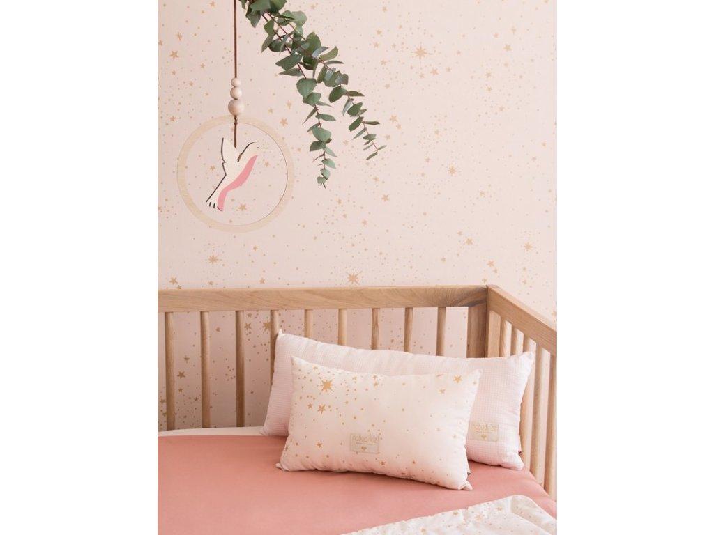 mood nobodinoz wallpaper goldstella dreampink purecrib hummingbird copyright