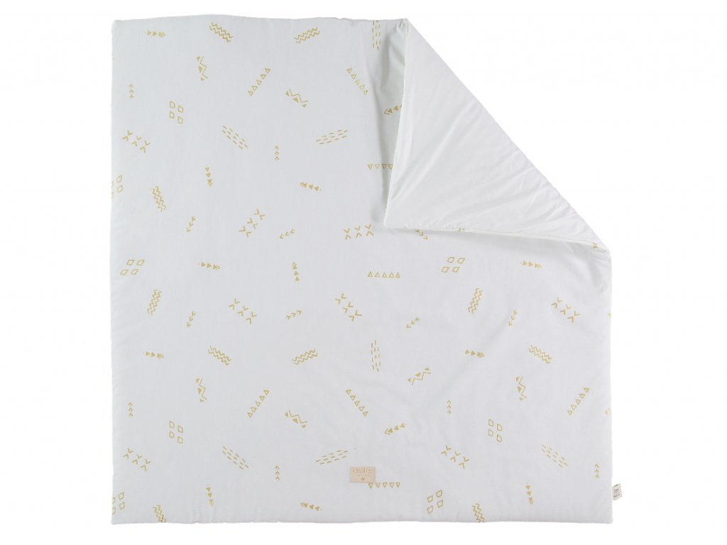 Colorado square playmat tapis de jeu carre alfombra de juego cuadrada gold secrets white nobodinoz 2