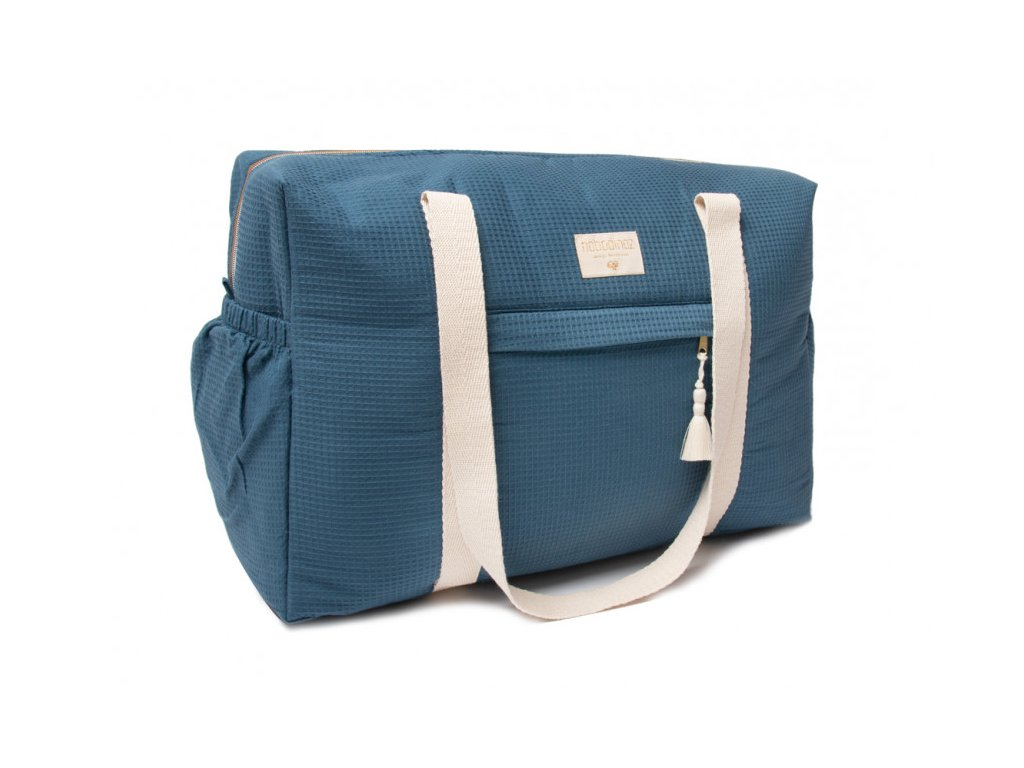 opera waterproof maternity bag night blue bolsa maternidad azul nobodinoz