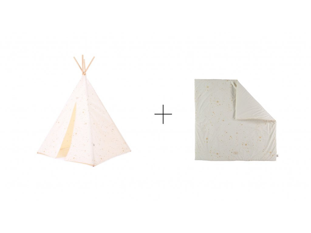 sada teepee + colorado gold stella natural