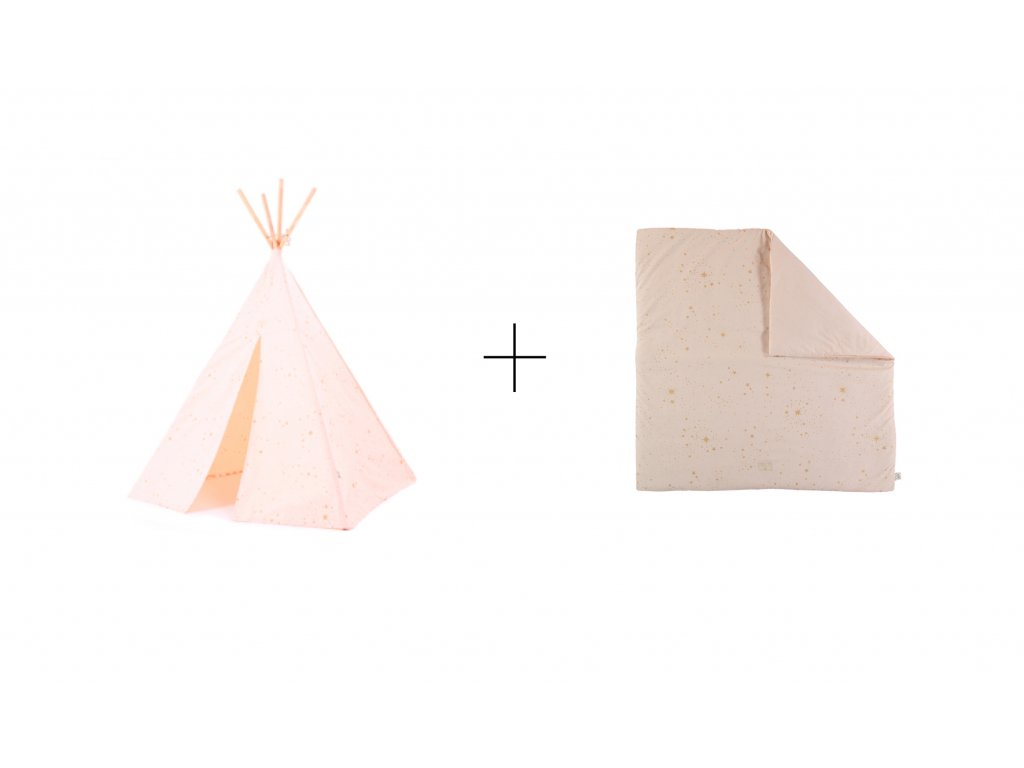 sada teepee + colorado gold stella dream pink