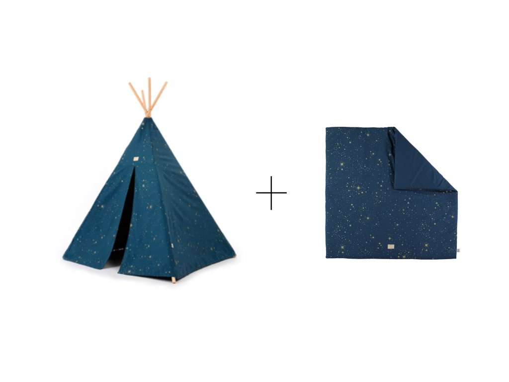 sada teepee + colorado Gold stella night blue