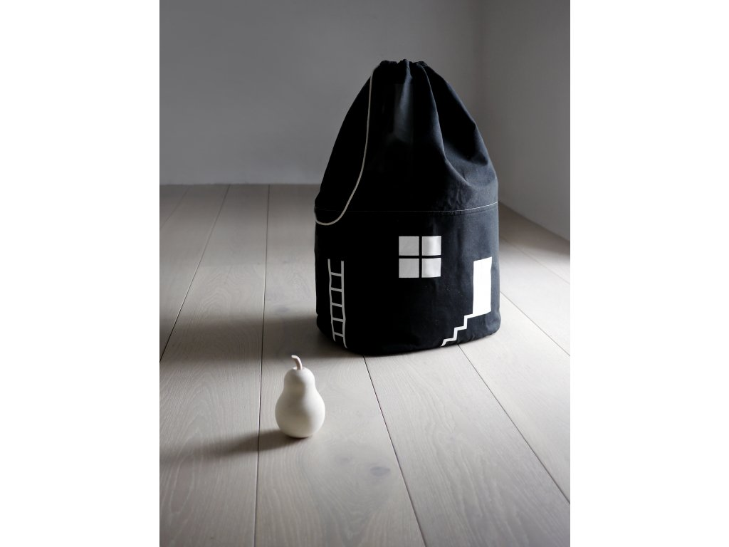 rock and pebble house No 2 storage bag organic cotton canvas 4