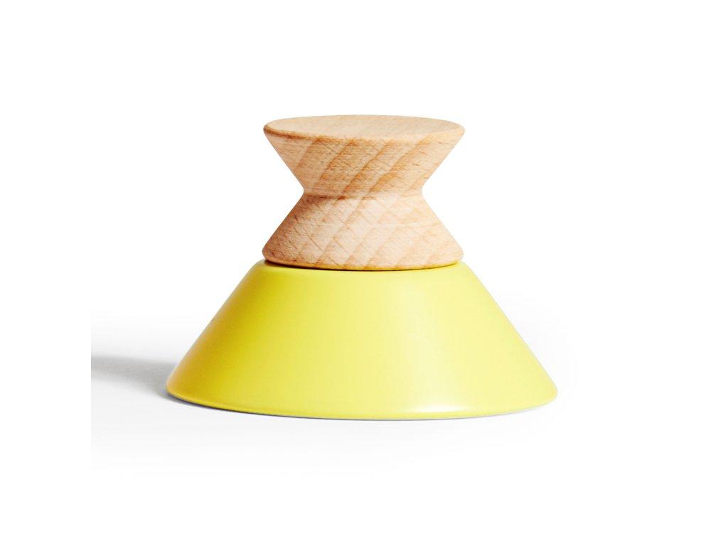 Háček Tippetop Žlutý / přírodní