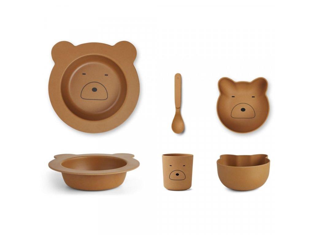 LW12643 0120 Mr bear mustard Main