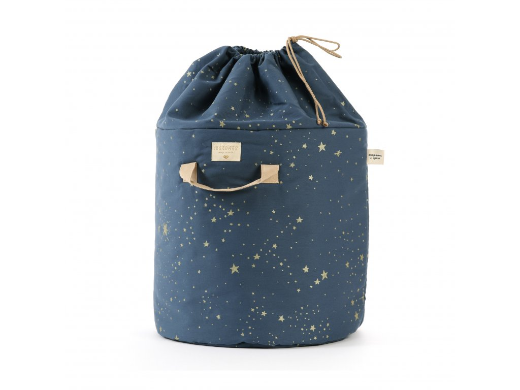 bamboo toybag gold stella night blue nobodinoz 1