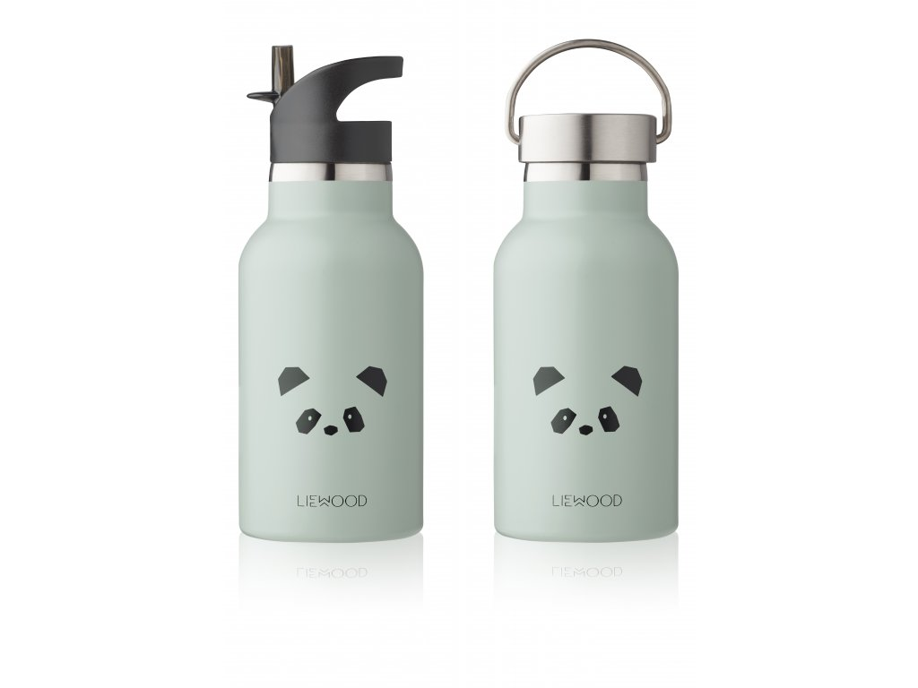ANKER WATERBOTTLE PANDA DUSTY MINT DUAL