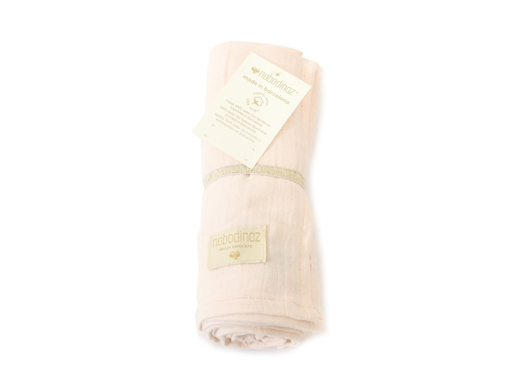 butterfly swaddle dream pink nobodinoz 1