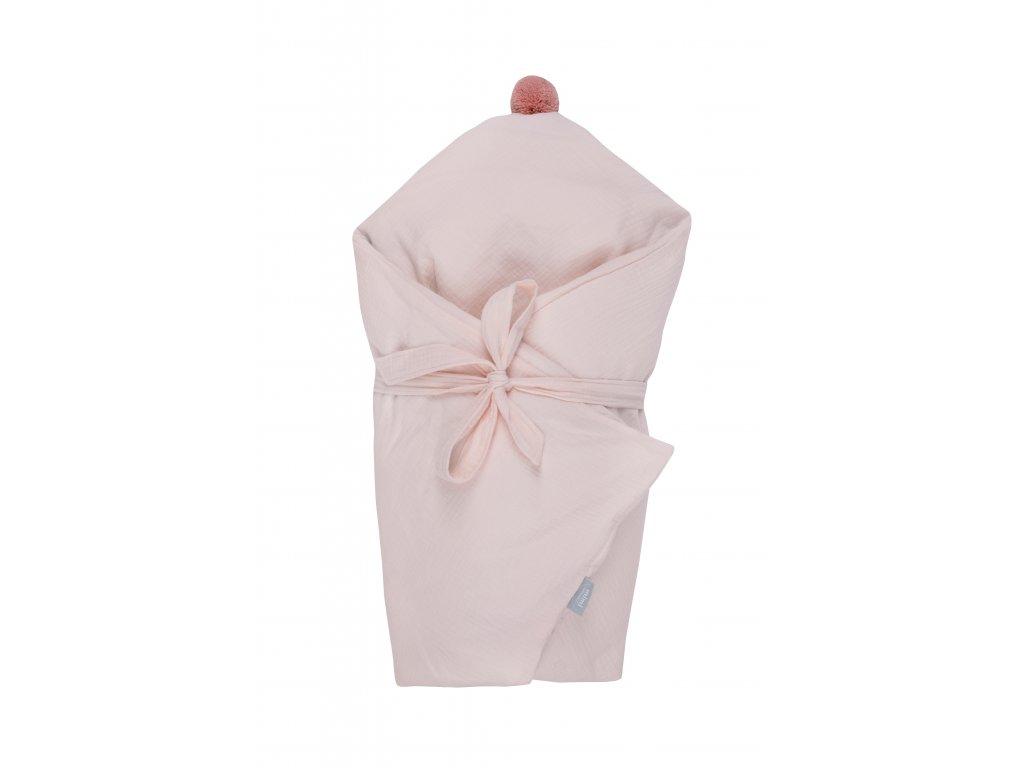 Zavinovačka péřová Marshmallow Pink