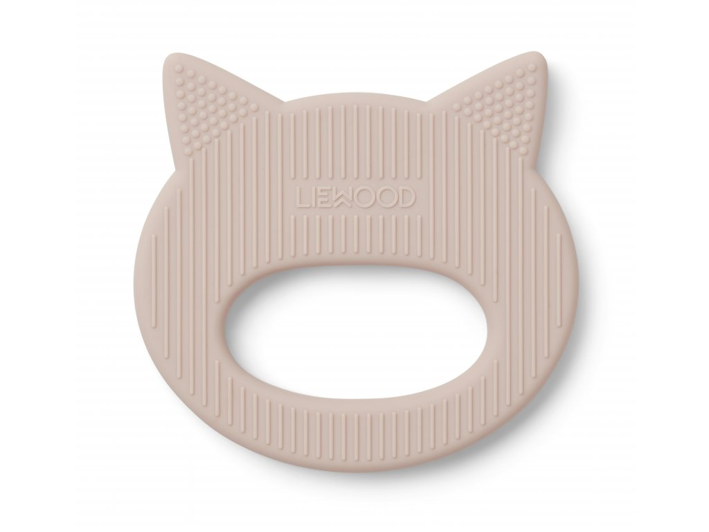 Gemma silicone teether rose 2