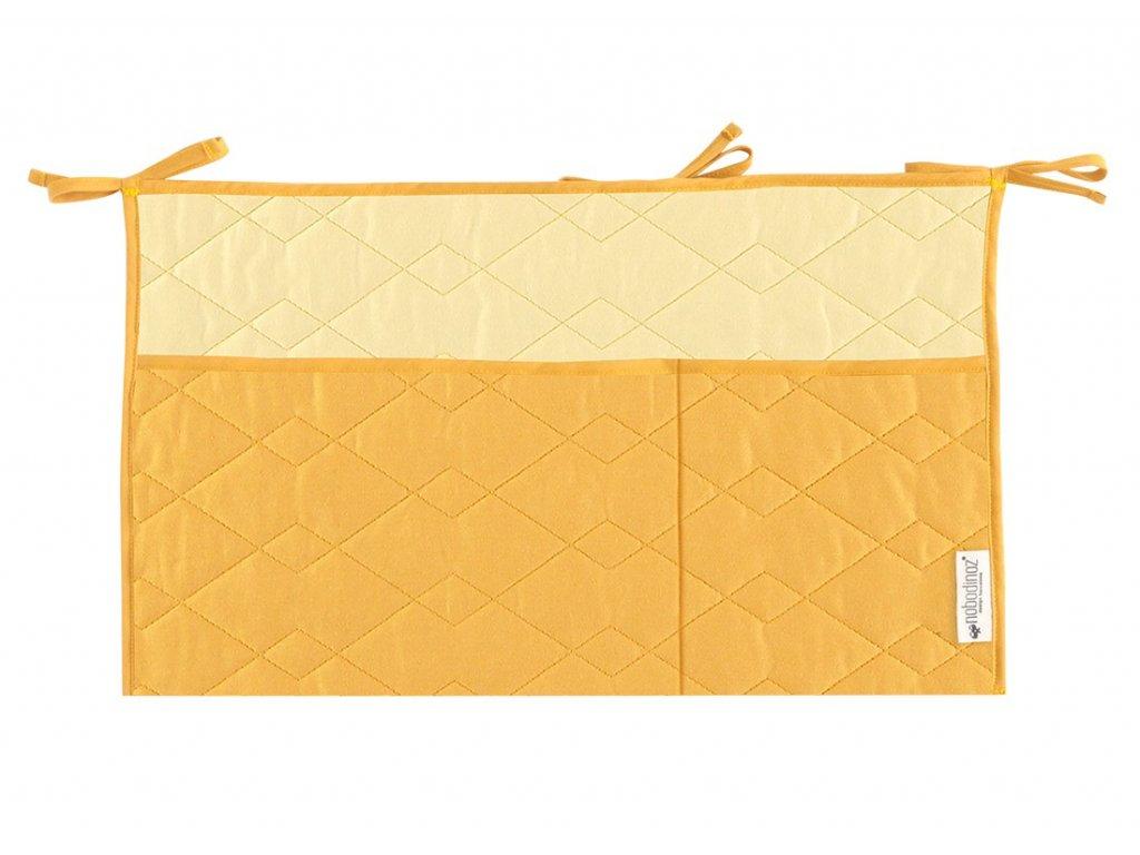 crib organizer sevilla farniente yellow nobodinoz 1